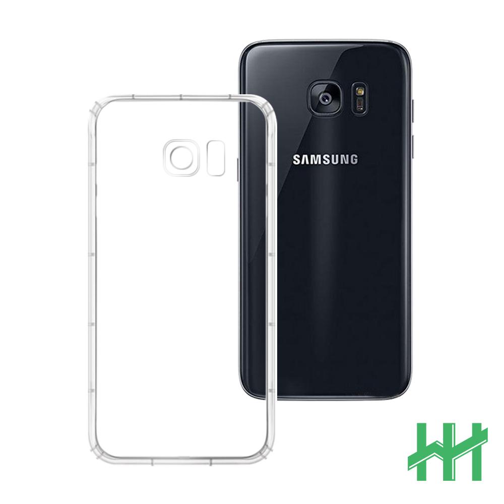 安全氣墊手機殼系列 Samsung  S7 edge (5.5吋) 防摔TPU隱形殼