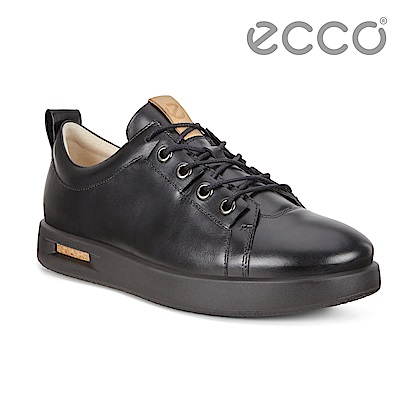 ECCO CORKSPHERE 1 M 時尚鏤空透視休閒鞋 男-黑