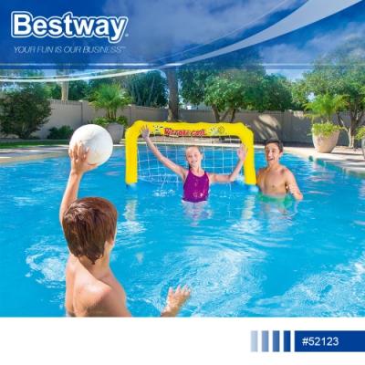 Bestway 52123充氣趣味水上沙灘排球門.夏日酷暑泳池戲水手球水上趣味遊戲運動會