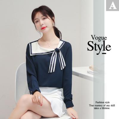 [時時樂]2F韓衣-韓系優雅造型上衣-6款任選(S-2XL)