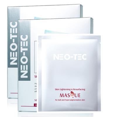 (買1送1)NEO-TEC妮傲絲翠 杏仁酸激光美白面膜4pcs