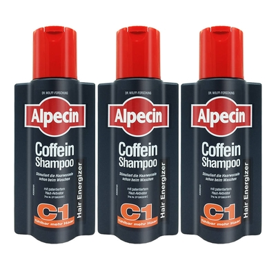 Alpecin 咖啡因洗髮露 250ml 超值三入組