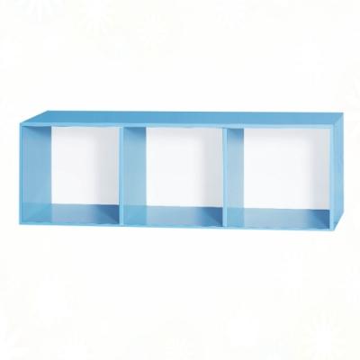 文創集 雷蒙 環保4尺南亞塑鋼開放式置物櫃/收納櫃-121.2x40x40.4cm免組