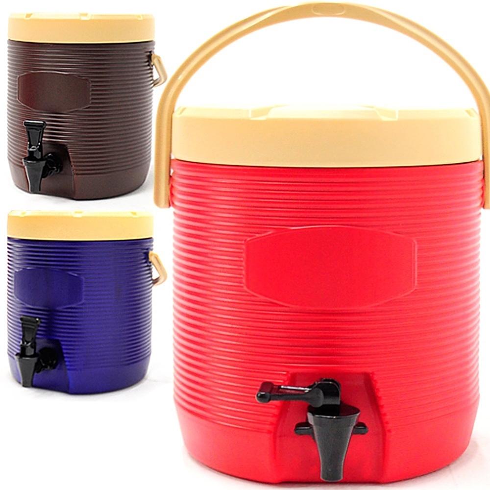 不鏽鋼13公升茶水桶  13L冰桶開水桶-(快)