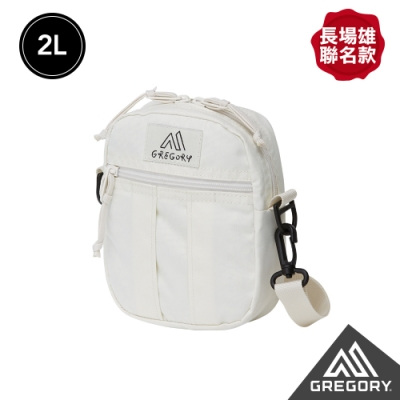 Gregory 2L QUICK POCKET 長場雄聯名 斜背包 本白