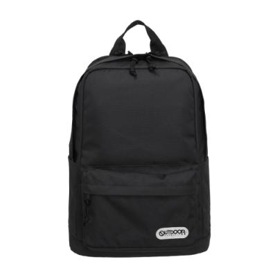 【OUTDOOR】極簡生活3.0-15.6吋筆電後背包-黑色 OD281100BK