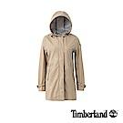 Timberland 女款卡其色Water Resistant連帽風衣外套|B2104