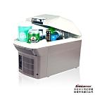 【安伯特】冰炫風 冷/熱兩用行動冰箱9L-附背帶(送-變壓器)可攜式兩用迷你冰箱