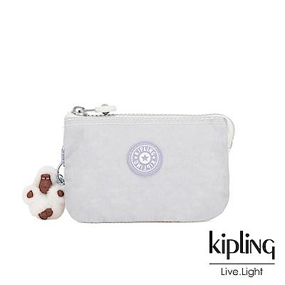 Kipling 法式丁香紫三夾層配件包-CREATIVITY S
