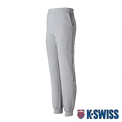 K-SWISS Flex-5Five Sweat Pants棉質運動長褲-男-灰