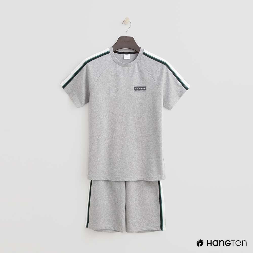 Hang Ten-青少童裝-直率潮流個性套組-灰