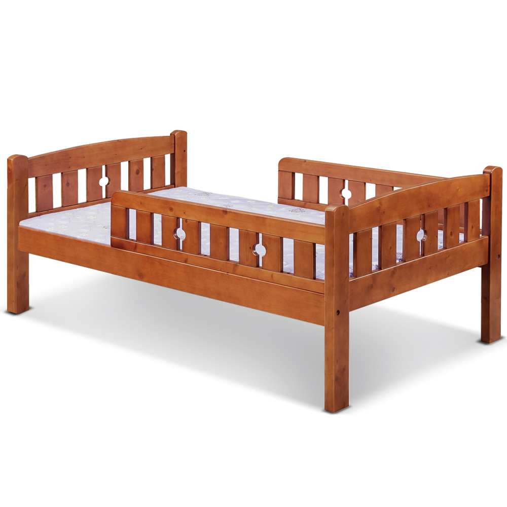 凱曼  瑪麗莎3.5尺護欄型單人床