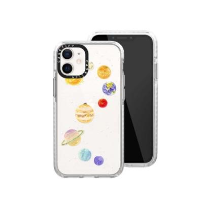 Casetify iPhone 12 mini 耐衝擊保護殼-糖果星球