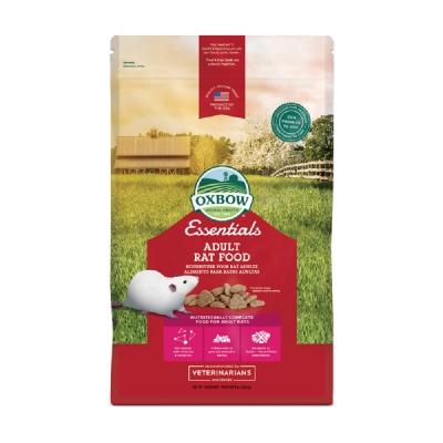 OXBOW-Essentials - Adult Rat FOOD活力大鼠主食 1.36KG(3LBS) 兩包組