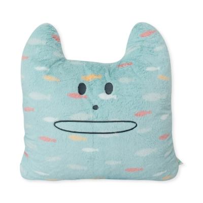 CRAFTHOLIC 宇宙人 海洋魚兒貓大靠枕