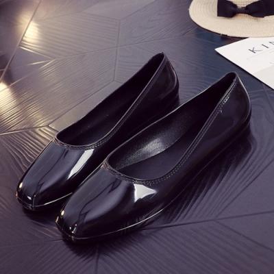 韓國KW美鞋館-高貴氣質閃亮平底鞋-黑色