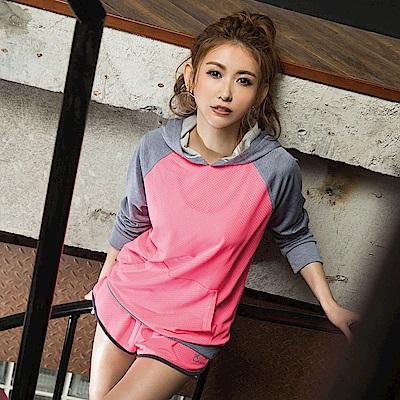 8:AT 短褲  M-XL(亮桃粉)