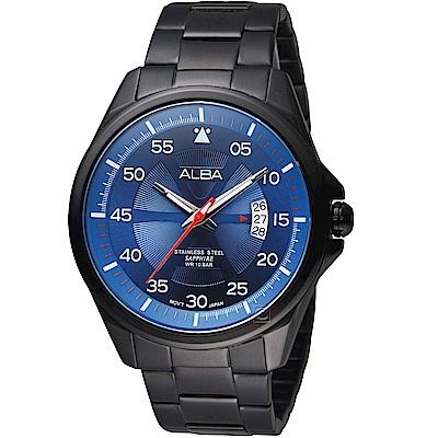 ALBA雅柏活力街頭時尚碗錶(AS9H39X1)-藍