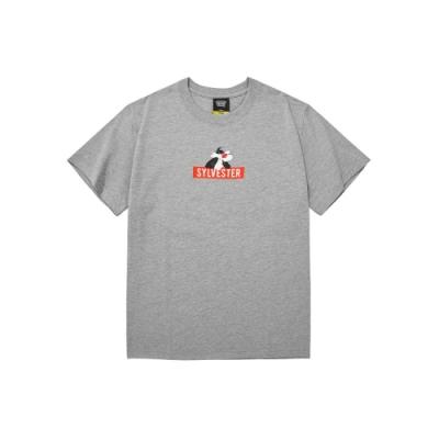 CACO-MIT傻大貓BOX短T-情侶款-男【SWB025】