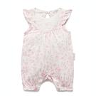 澳洲Purebaby有機棉嬰兒連身裝-3~12月兔裝