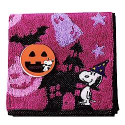 SNOOPY史努比萬聖節派對 小方巾(A款-紫色)