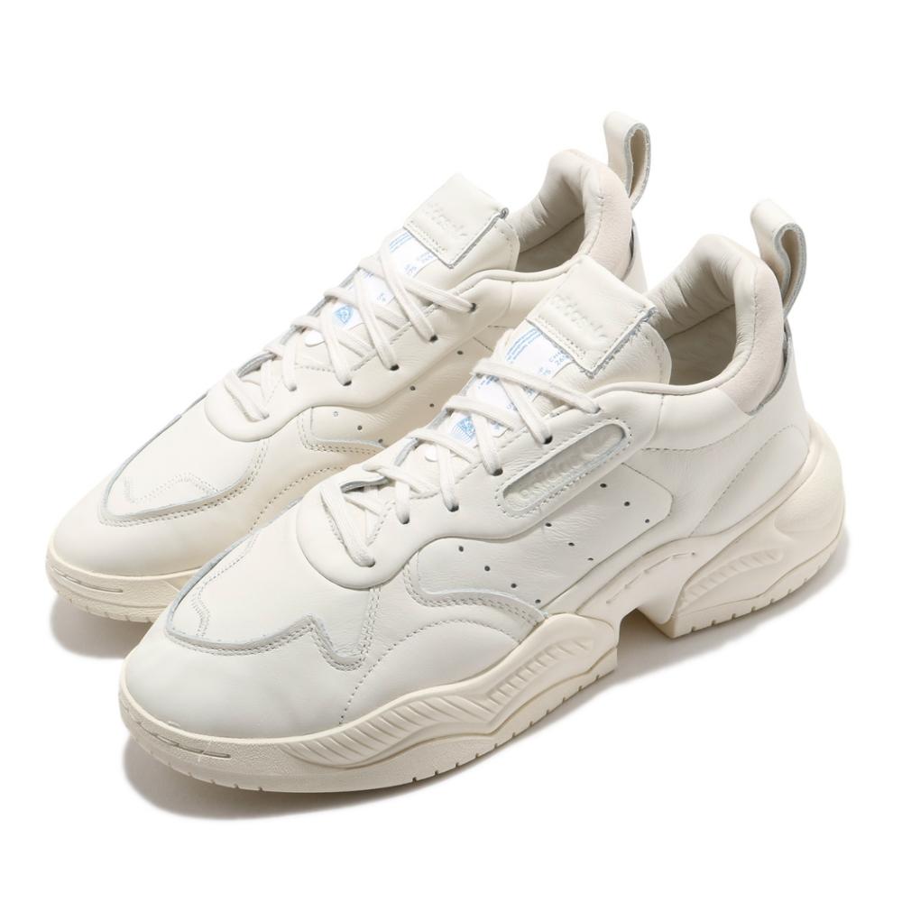 adidas 休閒鞋 Supercourt RX 流行 男鞋 海外限定 愛迪達 三葉草 皮革鞋面 穿搭 米 藍 EG6864
