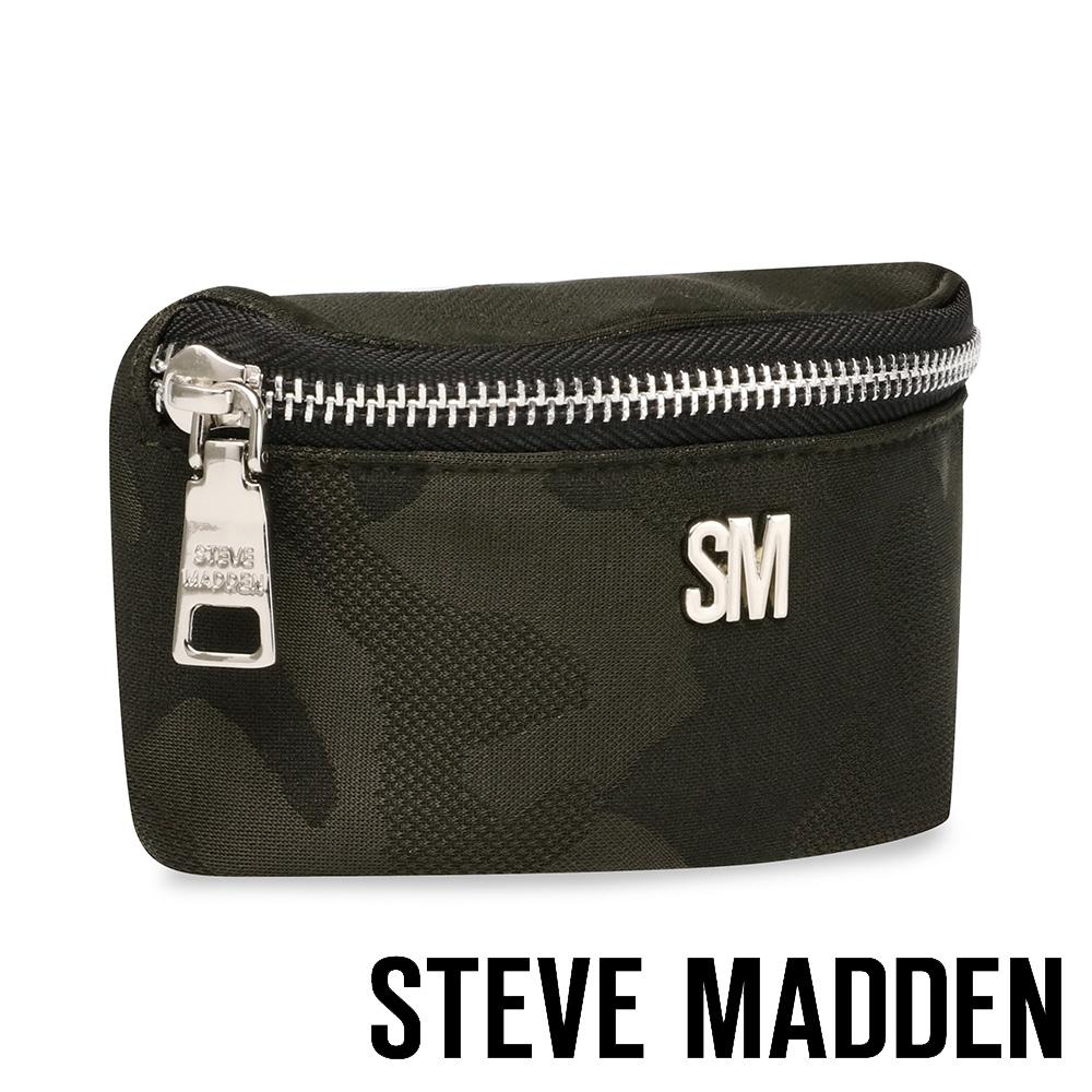 STEVE MADDEN-品牌時尚腰間小零錢包-迷彩
