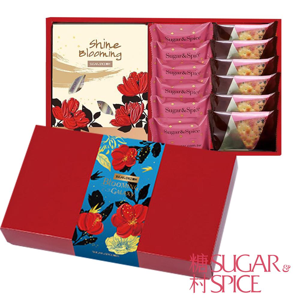 糖村 牡丹桂開1盒(附提袋)
