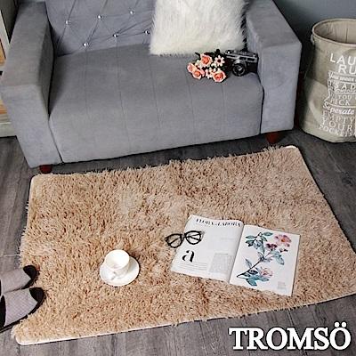 TROMSO 北歐風尚長毛地毯-摩登淺咖