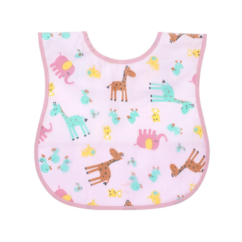 嬰兒立體反摺口袋防水圍兜(隨機出貨) g2650c 魔法Baby