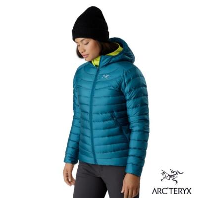Arcteryx 始祖鳥 女 Cerium LT 防潑水 連帽羽絨外套 神話綠
