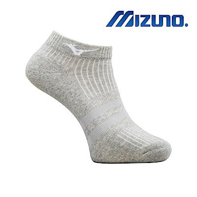 MIZUNO 男運動厚底踝襪 5入 灰 32TX920107