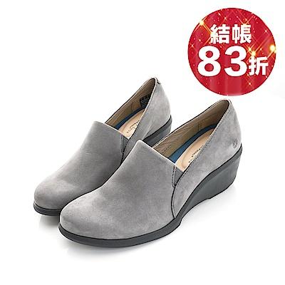 Hush Puppies FRAULEIN 楔型鞋-灰色