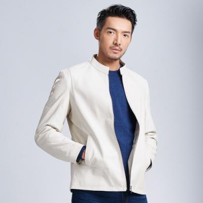 per-pcs 時尚型男羊革皮衣(818807)