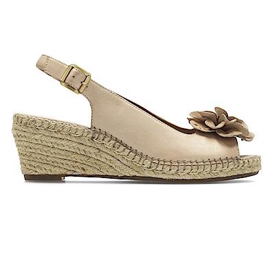 Clarks Petrina Bianca 女涼鞋 淺棕