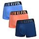 Calvin Klein Intense Power 男內褲 高彈性棉質寬版腰帶 短版合身四角褲/CK內褲-藍、橘、深藍 三入組 product thumbnail 1