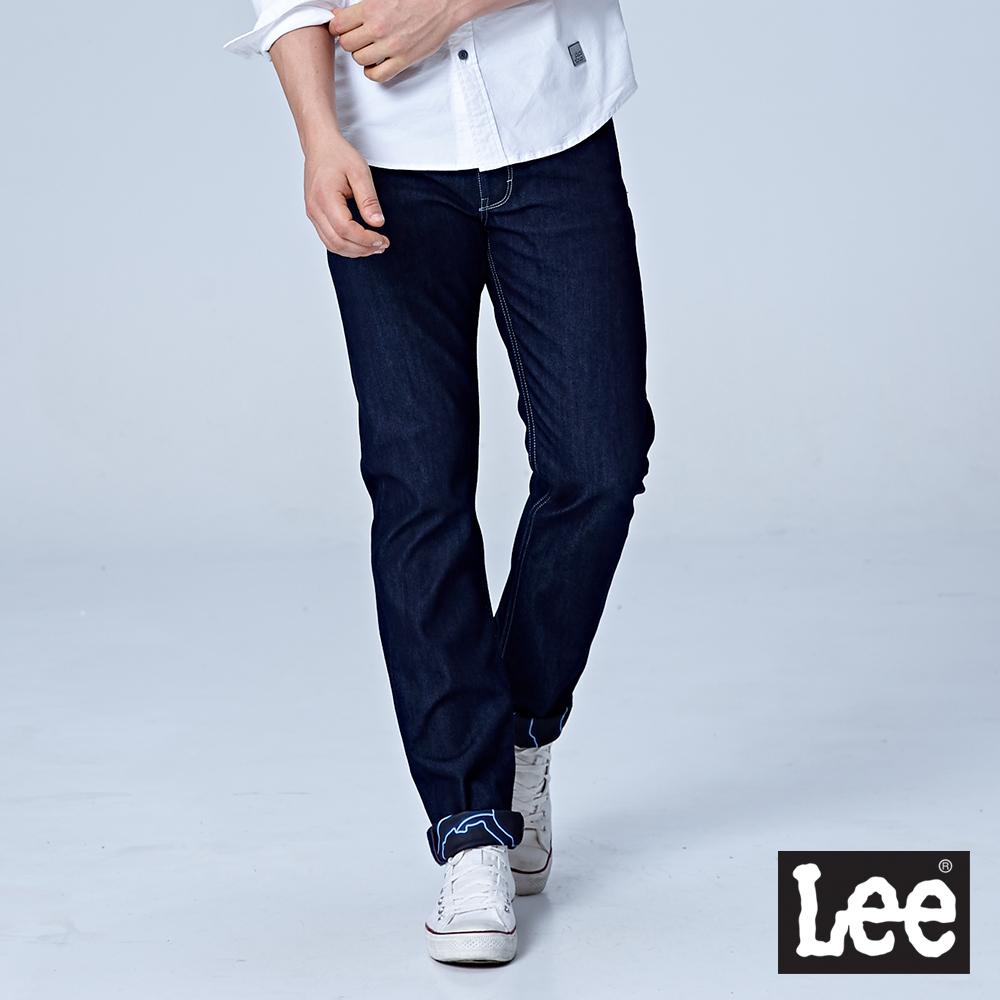 Lee 726中腰舒適小直筒牛仔褲/UR