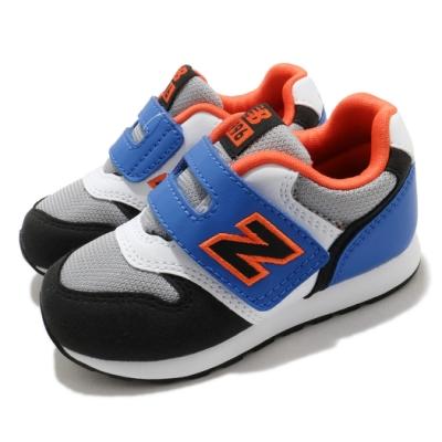 New Balance 休閒鞋 996 Wide 寬楦 運動 童鞋 紐巴倫 基本款 簡約 魔鬼氈 小童 穿搭 灰 藍 IZ996MBOW
