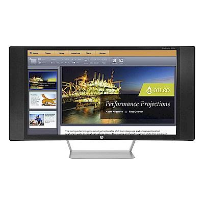 惠普 HP S270c 27吋 曲面/廣視角/專業螢幕顯示器(平行輸入)