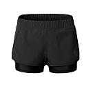 狐狸姬,輕質速乾短褲運動褲雙層褲-單褲