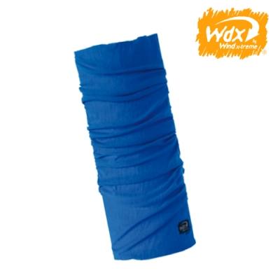 【Wind x-treme】美麗諾羊毛保暖多功能頭巾 5575 蔚藍(透氣、圍領巾、西班牙)