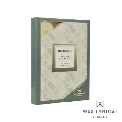 英國 Wax Lyrical 大地系列香氛蠟燭-伯爵香根草 Earl Grey & Vetivert 12入茶燭
