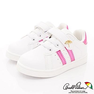 雨傘牌 簡約休閒鞋專櫃款 EI83568桃紅(中小童段)