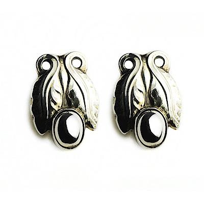 Georg Jensen #108 純銀夾式耳環