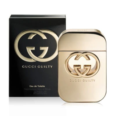 GUCCI Guilty 罪愛清新女性淡香水 75ml