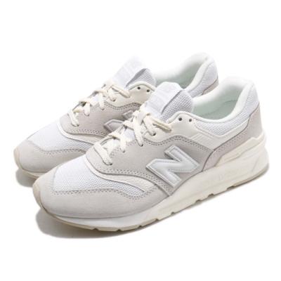 New Balance 休閒鞋 CM997HCBD 男女鞋 米白 灰 麂皮鞋面 運動鞋