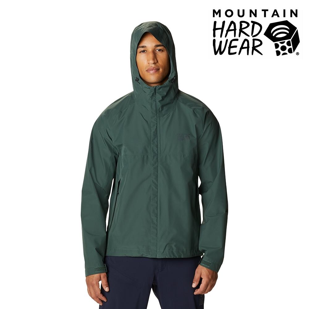 【美國 Mountain Hardwear】Exposure2 Gore-Tex Paclite GTX 防水連帽外套 男款 深雲杉綠 #1929851