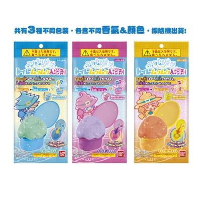 日本Bandai-魔法馬桶發泡入浴劑-4入(三款隨機出貨/3Y+/附可愛公仔/泡澡/洗澡玩具/交換禮物)