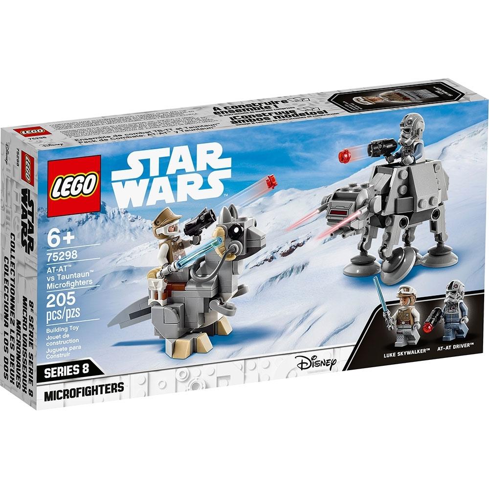 樂高LEGO 星際大戰系列 - LT75298 AT-AT vs. Tauntaun Microfighters