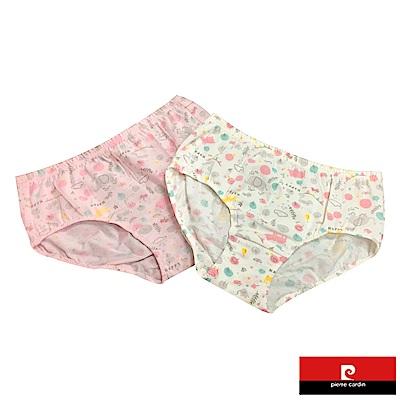 皮爾卡登 女兒童彈力動物印花三角褲-混色4件組(123002)